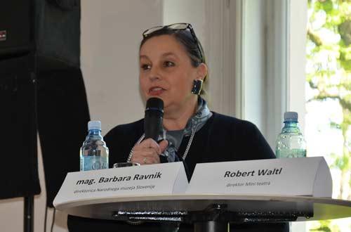 NMS - Otvorenje izložbe 'Svetovi in junaki' - Mag. Barbara Ravnik. Foto: VJB.