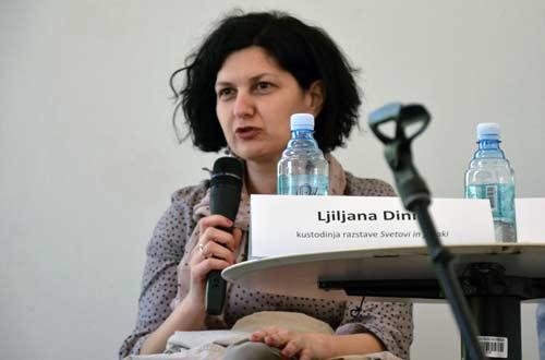 NMS - Otvorenje izložbe 'Svetovi in junaki' - Ljiljana Dinić. Foto: VJB.