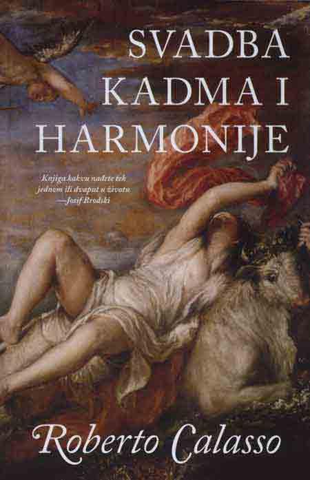 Knjiga: 'Svadba Kadma i Harmonije' Roberta Calassoa o olimpijskim bogovima (PRESS)